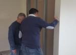 Radovi uređenja kabineta stručnog tima u Udruzi