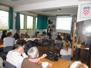 Predavanje nastavnom i stručnom osoblju Škole za cestovni promet Zagreb